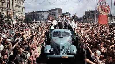 80 Лет назад памятник «рабочий и колхозница» был представлен публике