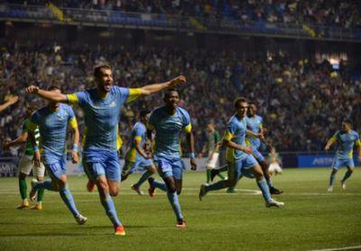 «Астана» одержала победу над «жальгирисом» и вышла в третий раунд лч