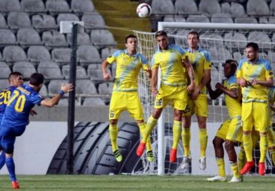 «Астана» проиграла апоэлу в первом туре группового этапа лиги европы