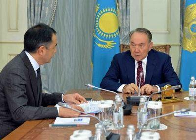 Б.сагинтаев отчитался перед президентом о развитии страны за 9 месяцев