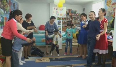 Центр реабилитации детей с особыми потребностями успешно работает в поселке зко