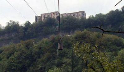 Чиатура – исчезающий город в грузии
