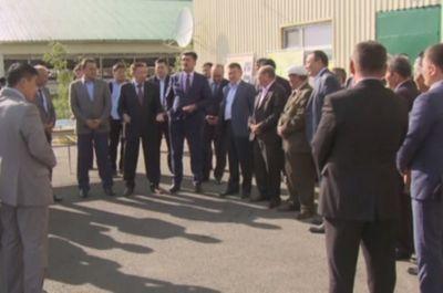 Члены комиссии по земельной реформе побывали в бурабайском районе