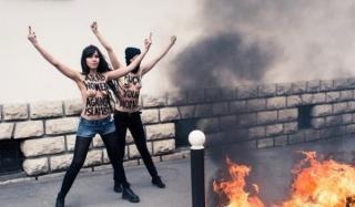 Движение femen объявило войну католической церкви в испании