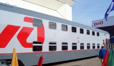 Двухэтажные поезда появятся в россии