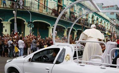 Франциск и кирилл вместе под тропическим небом - «наука»