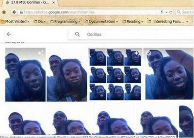 Google визуально приравнял чернокожих к гориллам - «общество»