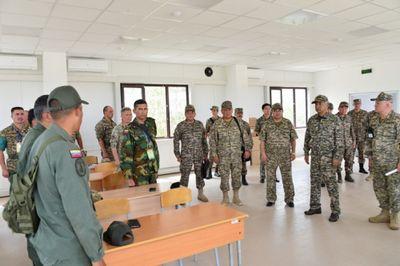 И.тасмагамбетов инспектировал качество подготовки служб перед началом армейских игр