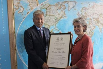 И.тасмагамбетов: правительство казахстана высоко оценивает уровень сотрудничества с юнеско