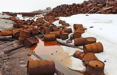 Итоги весенней уборки на острове белом: собрано 20 тонн металлолома