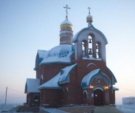 Ямал: епископ салехардский и новоуренгойский николай освятил поклонный крест и православный храм