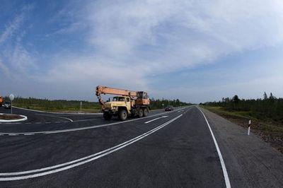 Ямальские дороги обезопасят двойной разметкой
