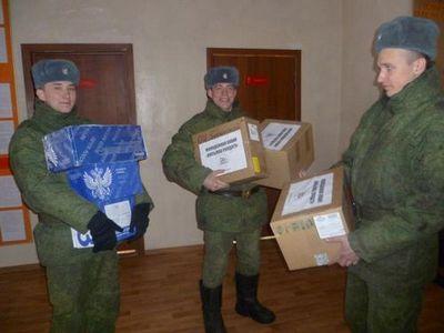 Ямальским военнослужащим в крыму привезут посылки солдату
