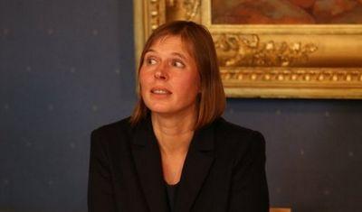 Эстонские нацрадикалы нехотят видеть керсти кальюлайд президентом эстонии - «общество»
