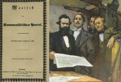 Этот день вистории: 21февраля 1848 года— впервые опубликован «манифест коммунистической партии» - «общество»
