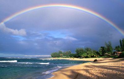 К чему снится радуга на небе: говорят, к удаче во всех начинаниях! основные толкования сна, в котором женщине снится радуга