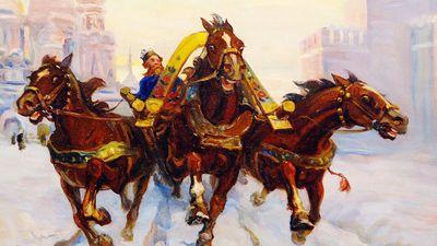 Как развлекались российские императоры зимой