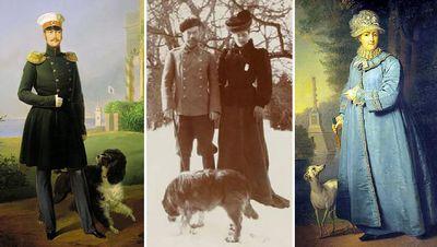 Как жили любимые собаки российских правителей