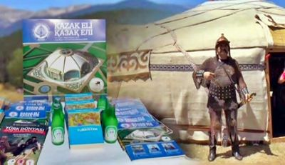 Казахские национальные изделия и блюда презентовали на фестивале в турции