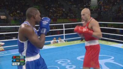 Казахстанский боксёр василий левит прошёл в полуфинал