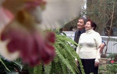 Кино про историю любви пожилой семейной пары показали в доме ветеранов в алматы