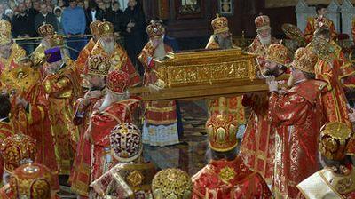 Ковчег с мощами николая чудотворца улетел из москвы в петербург