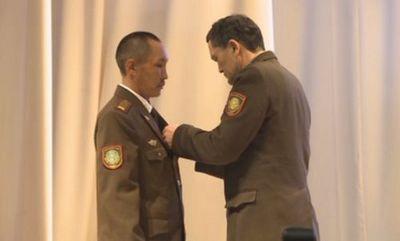 Медалью «ерлігі ?шін» отметили героизм пожарного костанайской области