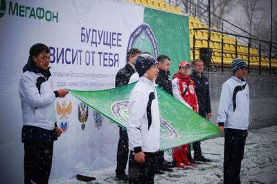 Мегафон поддержал маленьких футболистов на тюменской земле
