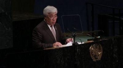 Министр иностранных дел рк выступил на 71-й сессии генассамблеи оон