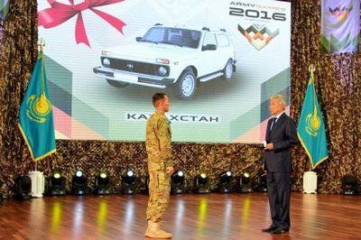 Министр обороны рк чествовал победителей конкурсов армейских международных игр-2016