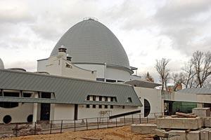 Московский планетарий встречает свой 80-летний юбилей в состоянии реконструкции