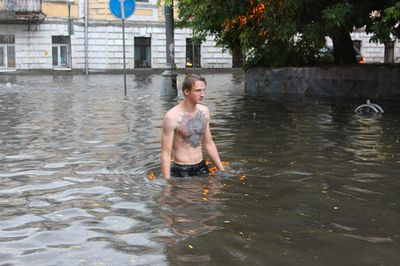 Москвичи протестуют против строительства храма в парковой зоне