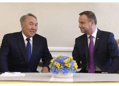 Н.назарбаев: казахстан и польша – государства, которые дополняют друг друга