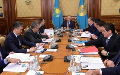 Н.назарбаев: на сегодняшний день из ста шагов полностью выполнено 23
