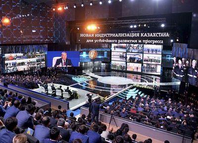 Н.назарбаев: ориентация промышленности на экспорт - единственно верный путь развития казахстана