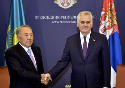 Н.назарбаев: партнерство с сербией может принести выгоду для обеих сторон