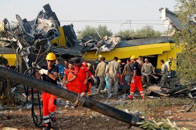 На месте столкновения поездов в италии обнаружен «чёрный ящик»