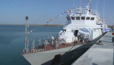 На службе морских пограничников казахстана новый военный корабль