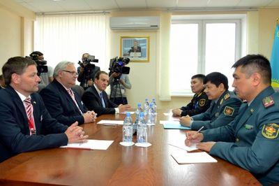 Немецкая компания поставит ракетно-артиллерийский корабль на вооружение казахстанской армии