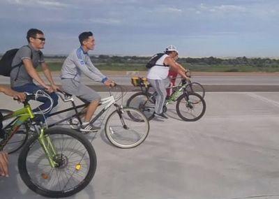 Незрячие велосипедисты примут участие в 10-дневном марафоне