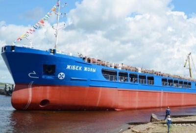 Новое судно «жибек жолы» пополнит сухогрузный флот казахстана