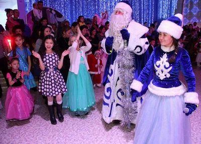 Новогодняя ёлка для детей военнослужащих нацгвардии рк прошла в астане
