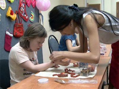 Общество детей с ограниченными возможностями заботится о своих воспитанниках