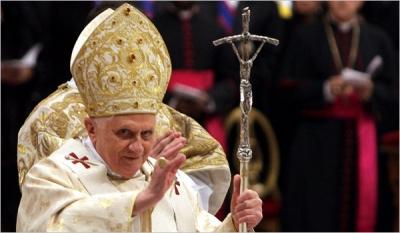 Папа римский бенедикт xvi покинул престол