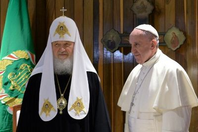Папа римский и патриарх кирилл готовят реформу христианской церкви