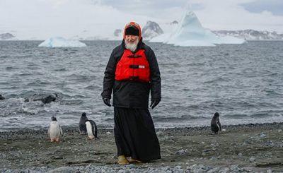 Патриарх среди пингвинов: первое полярное слово пастыря? - «наука»