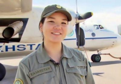 Первая девушка-пилот ввс рк мечтает полететь в космос