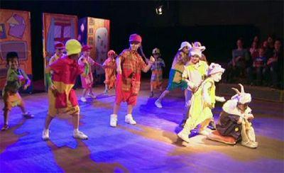 Первый детский мюзикл поставили в казахстане