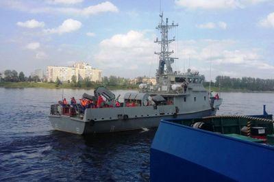 Первый минно-тральный корабль вмс рк проходит испытания
