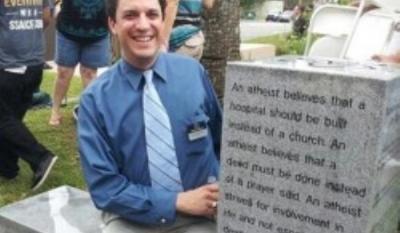 Первый памятник атеизму